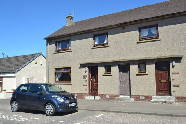 Thumbnail End terrace house to rent in Castle Street, Clackmannan
