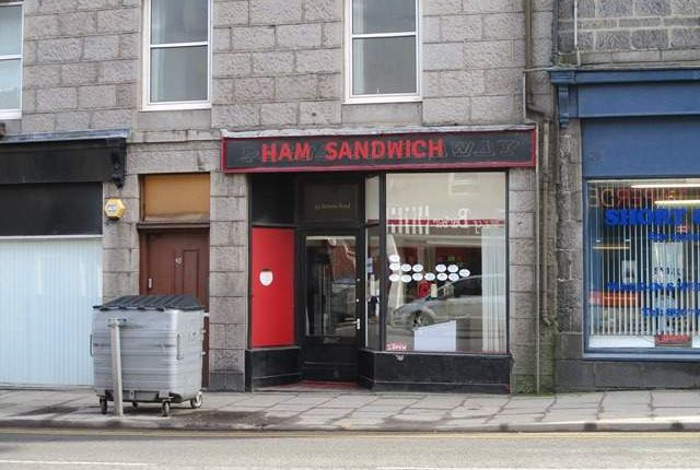 Thumbnail Retail premises for sale in Victoria Road, Aberdeen