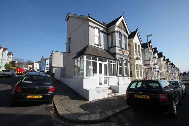 Thumbnail End terrace house for sale in Meredith Road, Plymouth
