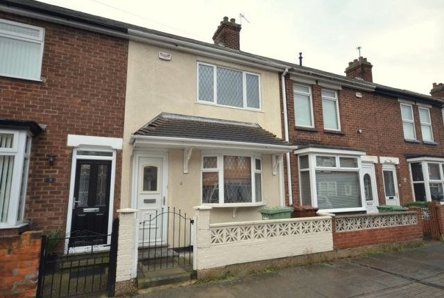 Thumbnail Terraced house to rent in Bowers Avenue, Grimsby