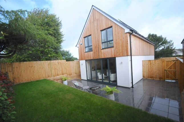 Thumbnail Detached house for sale in Leslie Road, Whitecliff, Poole, Dorset