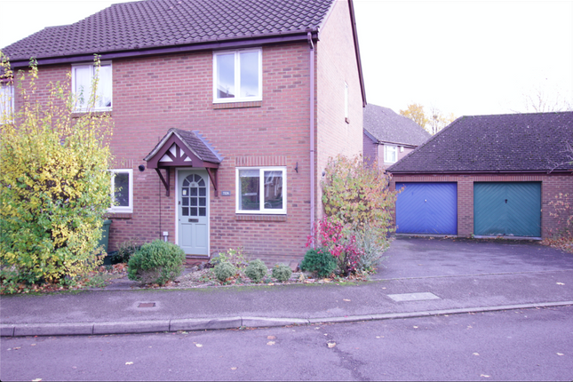 Thumbnail Semi-detached house to rent in Arlott Drive, Basingstoke, Hampshire