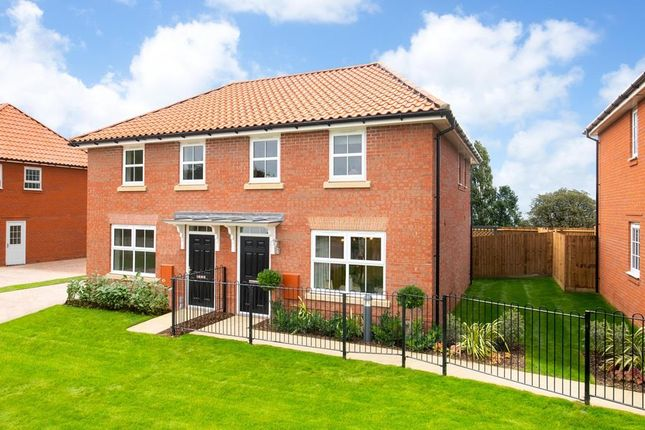 """3 bed end terrace house for sale in """"Archford"""" at Old Stowmarket Road, Woolpit, Bury St. Edmunds IP30"""