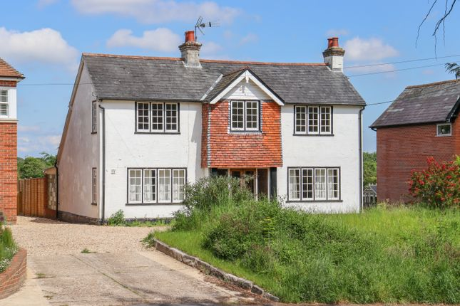 Thumbnail Detached house for sale in Main Road, Littleton, Winchester