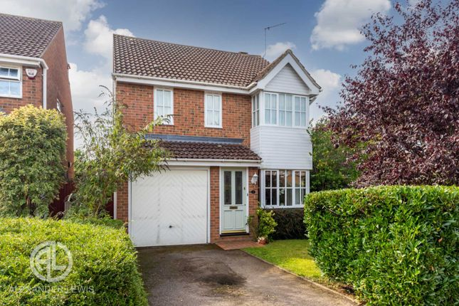 Thumbnail Detached house for sale in Webb Close, Letchworth Garden City
