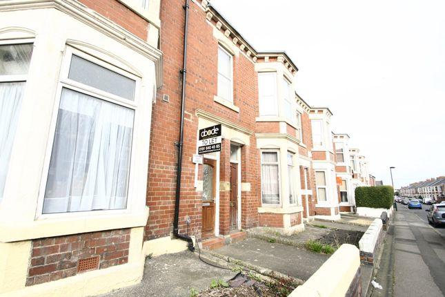 Thumbnail Flat to rent in Trewhitt Road, Heaton, Newcastle Upon Tyne