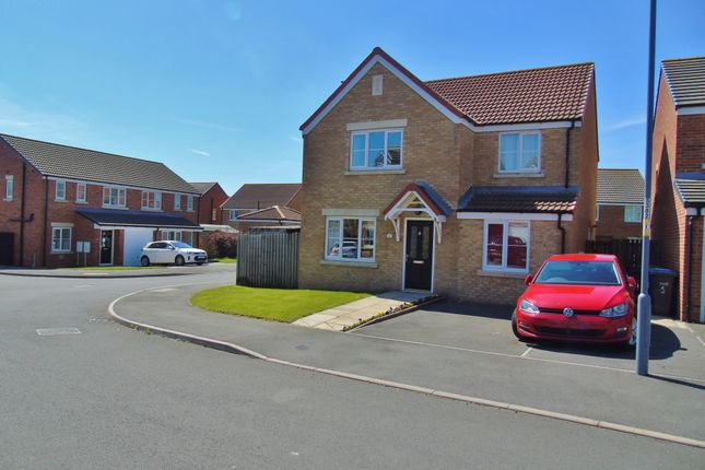 Thumbnail Detached house for sale in Southfields, Stanley, Crook