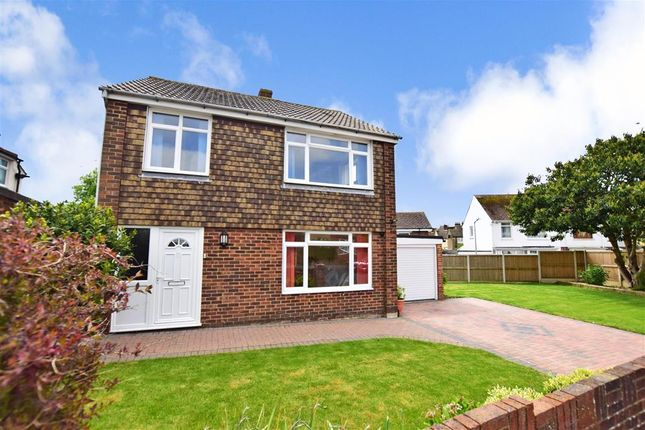 Thumbnail Detached house for sale in Foreland Avenue, Folkestone, Kent