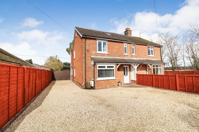 Thumbnail Semi-detached house for sale in London Road, Benham Hill, Thatcham