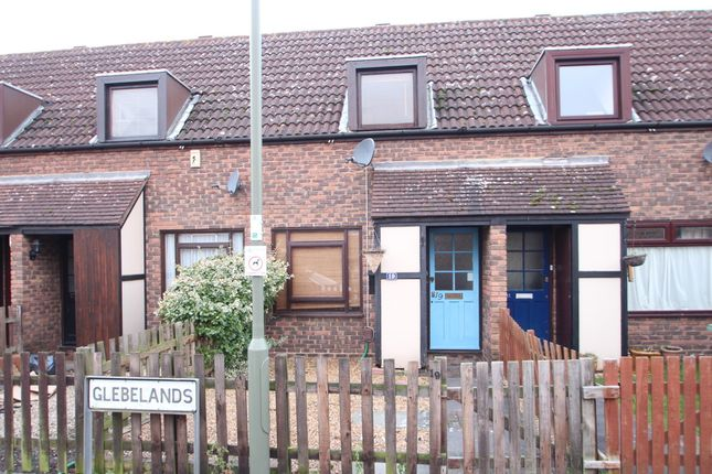 Thumbnail Terraced house to rent in Glebelands, West Molesey