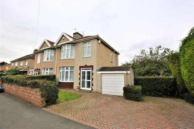 Thumbnail Semi-detached house for sale in Fossedale Avenue, Hengrove, Bristol