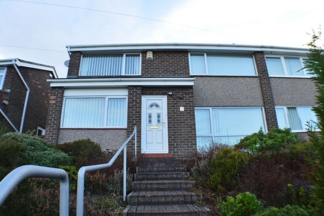 Thumbnail Semi-detached house to rent in Kepwell Road, Prudhoe