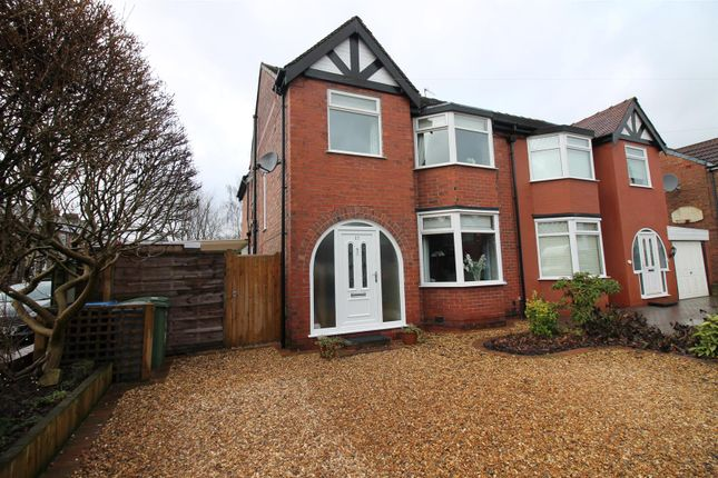 Thumbnail Semi-detached house for sale in Carrsvale Avenue, Urmston, Manchester