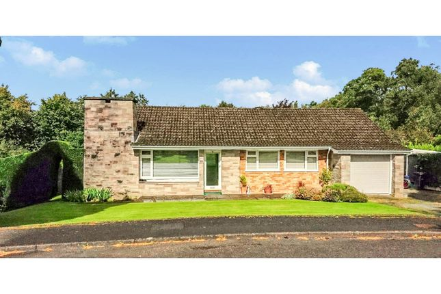 Thumbnail Detached bungalow for sale in Brookfields, Cefnllys, Llandrindod Wells