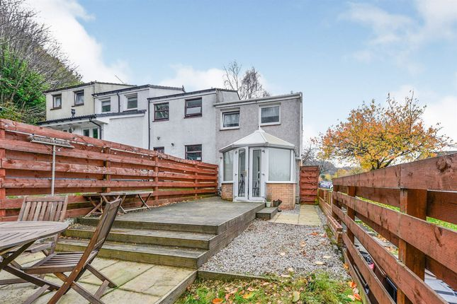 Thumbnail End terrace house for sale in Barnhill Road, Dumbarton