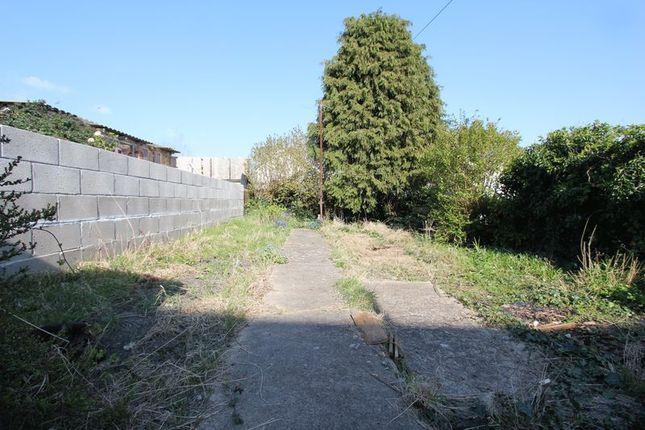 Rear Garden of Tynewydd Road, Barry CF62