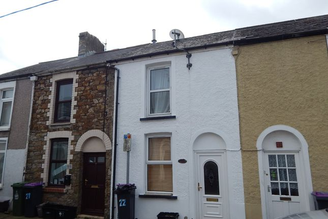 Thumbnail Terraced house to rent in Gwent Street, Pontypool