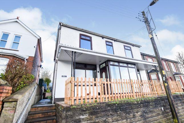 Thumbnail Detached house for sale in Penmaen Road, Pontllanfraith, Blackwood