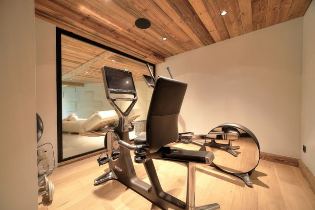 Fitness Area of Megeve, Rhones Alps, France
