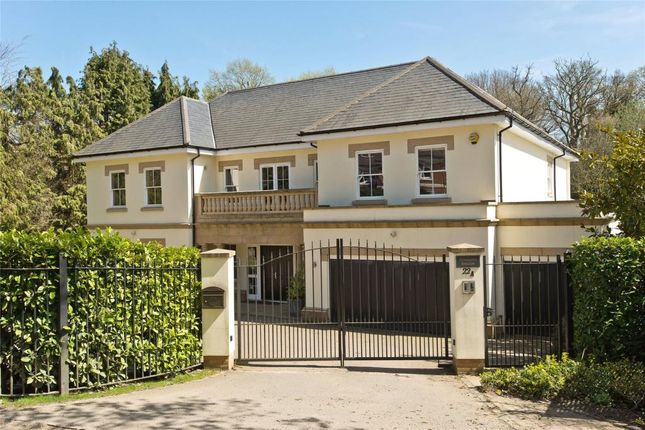 Thumbnail Detached house for sale in Water Lane, Cobham, Surrey