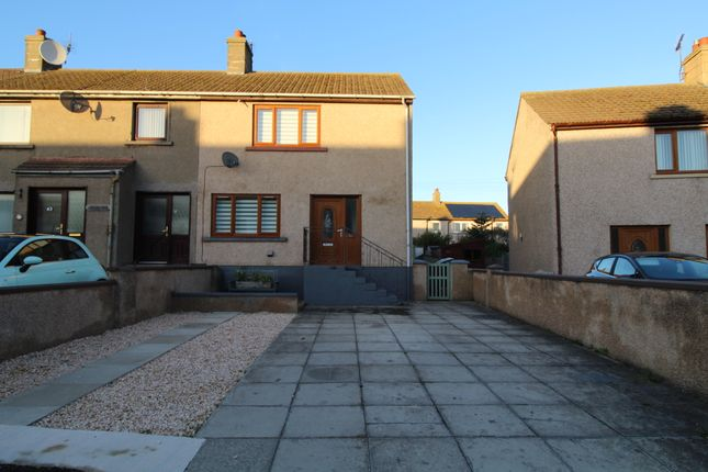 Thumbnail End terrace house for sale in Bryson Crescent, Portessie, Buckie