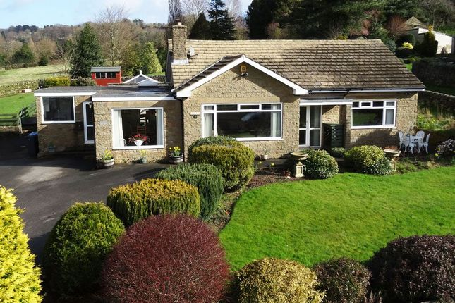 Thumbnail Detached bungalow for sale in Greenaway Lane, Hackney, Matlock, Derbyshire