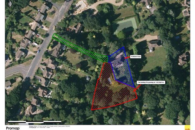 Boundary Plan of Culverden Down, Tunbridge Wells, Kent TN4
