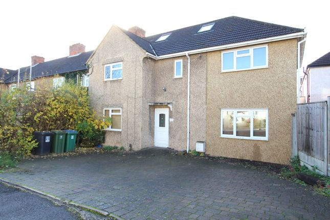 Thumbnail Semi-detached house to rent in Fuller Road, Watford