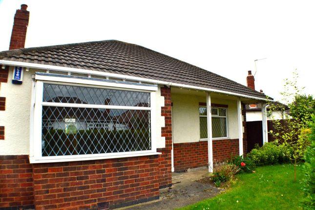 Thumbnail Detached bungalow to rent in Waldene Drive, Alvaston, Derby