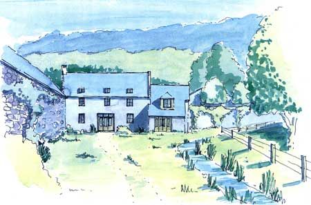 Thumbnail Detached house for sale in Grange Farm Steading, Mutehill, Kirkcudbright