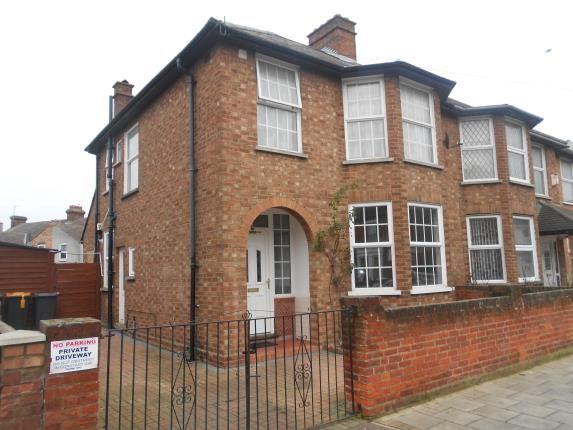 Thumbnail Semi-detached house for sale in Honey Hill Road, Bedford, Bedfordshire
