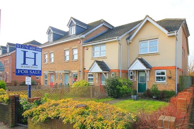 Thumbnail End terrace house for sale in Frimley Green Road, Frimley Green, Camberley
