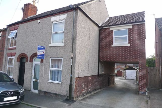 Thumbnail End terrace house to rent in Ash Street, Ilkeston, Derbyshire