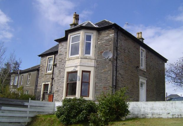 Thumbnail Flat to rent in William Street, Dunoon PA23,