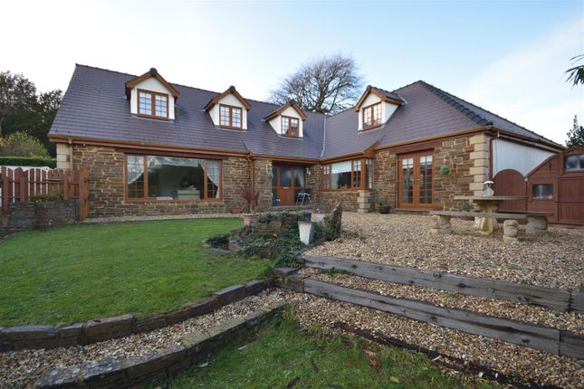 Thumbnail Detached house for sale in West Cross Lane, West Cross, Swansea