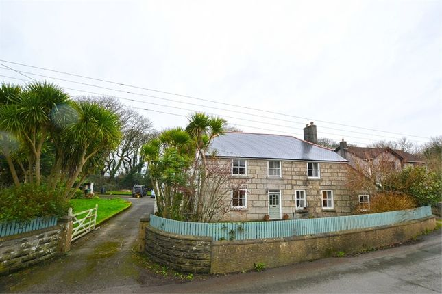 Thumbnail Detached house for sale in Wall Road, Gwinear, Hayle