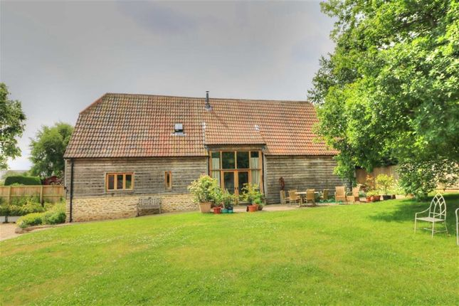 Thumbnail Barn conversion for sale in The Black Barn, Winkins Lane, Great Somerford, Wiltshire