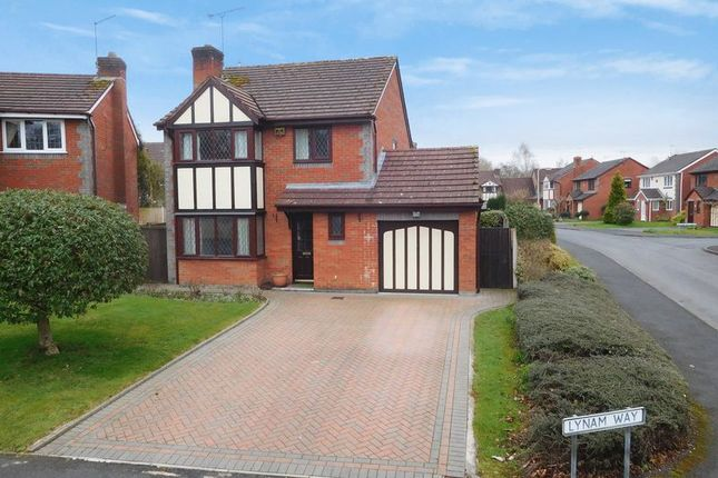 Thumbnail Detached house for sale in Lynam Way, Madeley, Crewe