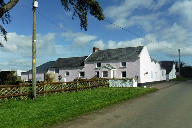 Thumbnail Equestrian property for sale in Cilonen Fawr Farm, Cilonen, Three Crosses