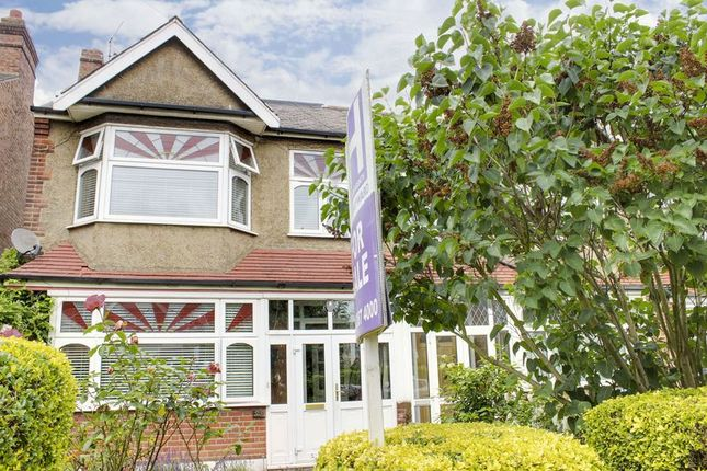 Thumbnail End terrace house for sale in Chase Side Avenue, Enfield