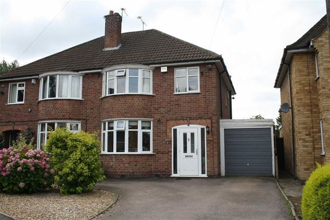 Thumbnail Semi-detached house to rent in Kirkstone Avenue, Glenfield, Leicester