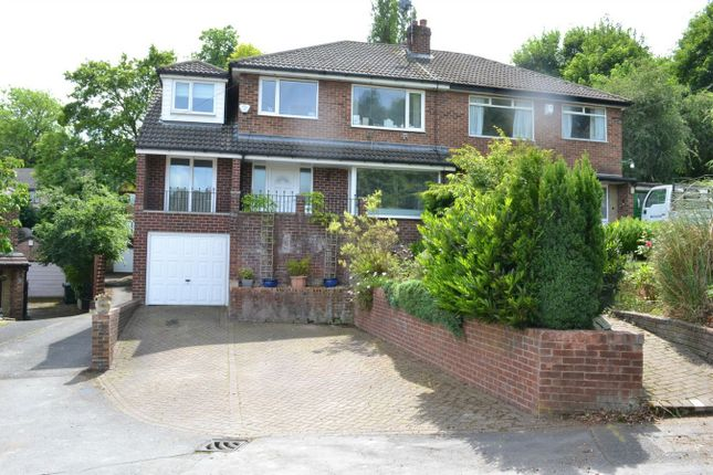 Thumbnail Semi-detached house for sale in Briery Grove, Mirfield