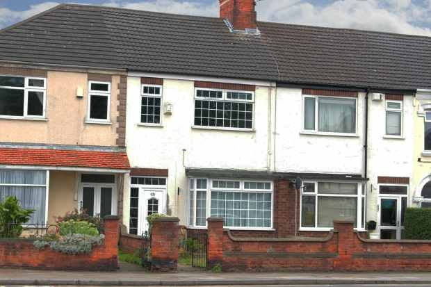 Thumbnail Terraced house for sale in Grimsby Road, Cleethorpes, South Humberside