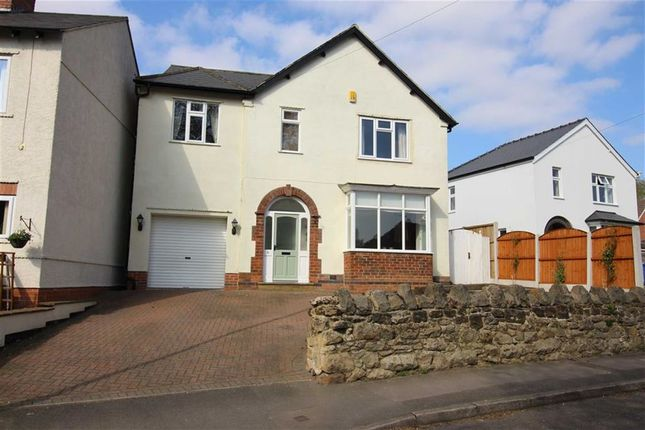 Thumbnail Detached house for sale in Robincroft Road, Allestree, Derbys