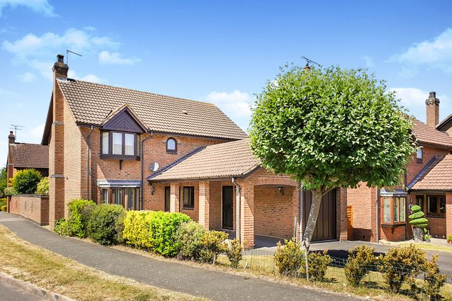 Thumbnail Detached house for sale in Saxon Meadows, Leamington Spa
