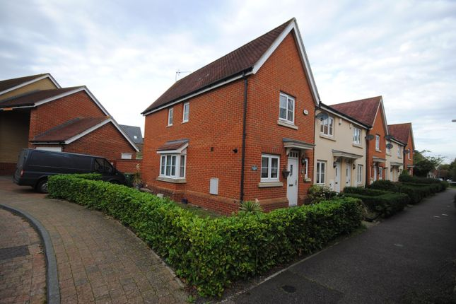 Thumbnail End terrace house for sale in Mortimer Way, Witham