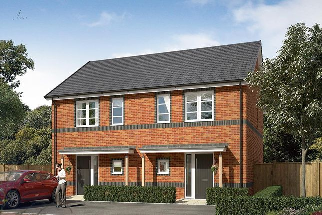 "Thumbnail Semi-detached house for sale in ""The Coleford"" at Cobblers Lane, Pontefract"