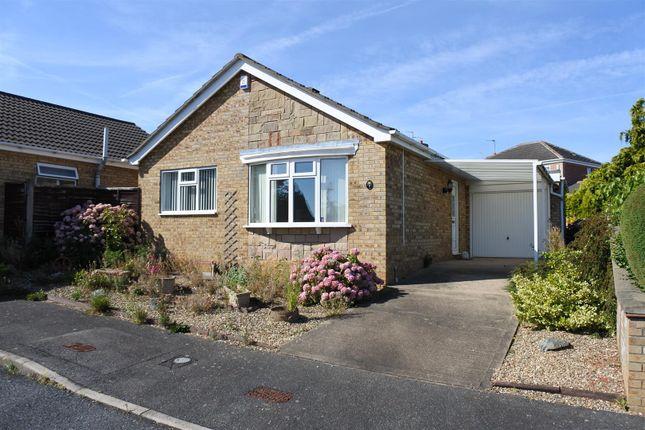 Thumbnail Detached bungalow for sale in Bristol Close, Grantham