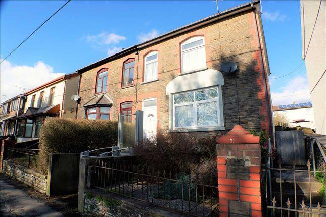 Thumbnail Semi-detached house for sale in Gilfach Road, Tonyrefail, Porth