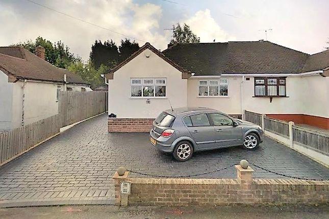 Thumbnail Semi-detached bungalow to rent in Grasmere Close, Tettenhall, Wolverhampton